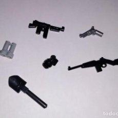 Juegos construcción - Lego: LOTE NUEVO DE ARMAS DE LA SEGUNDA GUERRA MUNDIAL WWII DEL EJERCITO USA COMPATIBLES CUSTOM LEGO. Lote 203084012