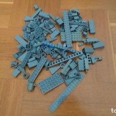 Juegos construcción - Lego: LOTE LEGO PIEZAS GRIS OSCURO. Lote 187319775