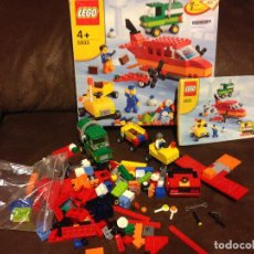Juegos construcción - Lego: CAJA LEGO ,PIEZAS AUTOS AEROPUERTO.REF: 5933.. Lote 189430356
