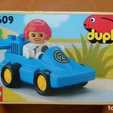 Juegos construcción - Lego: LEGO 2609 DUPLO RACER. Lote 190010950