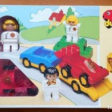 Juegos construcción - Lego: LEGO 2671 DUPLO GRAND PRIX RACING. Lote 190011315