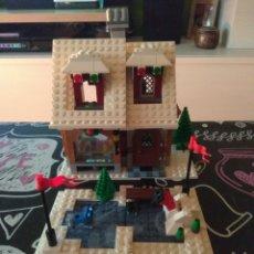 Juegos construcción - Lego: LEER ANUNCIO Y LEGO 10216 WINTER VILLAGE BAKERY.PASTELERIA DEL PUEBLO EN NAVIDAD.DESCATALOGADO. Lote 190044978
