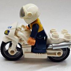 Juegos construcción - Lego: POLICIA Y MOTO.. Lote 190221861