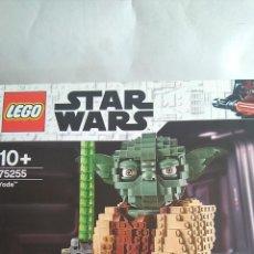 Juegos construcción - Lego: LEGO STAR WARS FIGURA YODA 42 CMS. NUEVA. EN CAJA REF. 75255. Lote 190344877