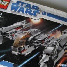 Juegos construcción - Lego: CAJA VACÍA LEGO - LEGO STAR WARS 7673 'MAGNA GUARD STARFIGHTER' ITEM 4512526 - AÑO 2008. (SÓLO CAJA). Lote 191233005