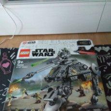 Juegos construcción - Lego: CAJA VACIA LEGO STAR WARS REFERENCIA 75234 AT-AP WALKER ORIGINAL. Lote 191496901