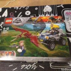Juegos construcción - Lego: CAJA VACIA LEGO JURASSIC WORLD 75926 PTERANODON CHASE. Lote 191522880