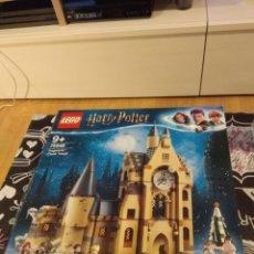 Juegos construcción - Lego: CAJA VACIA LEGO HARRY POTTER 75948 HOGWARTS CLOCK TOWER. TORRE DEL RELOJ DE HOGWARTS. Lote 191534115