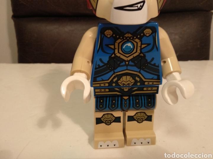 Juegos construcción - Lego: Amantes rarezas LEGO.FIGURA GRANDE LEGO SERIE CHIMA.23 cm alto - Foto 5 - 191566687