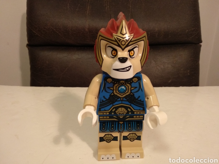 AMANTES RAREZAS LEGO.FIGURA GRANDE LEGO SERIE CHIMA.23 CM ALTO (Juguetes - Construcción - Lego)