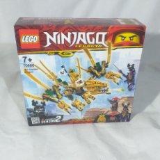 Jeux construction - Lego: LEGO NINJAGO DRAGÓN DORADO (70666) NUEVO A ESTRENAR. Lote 191571593