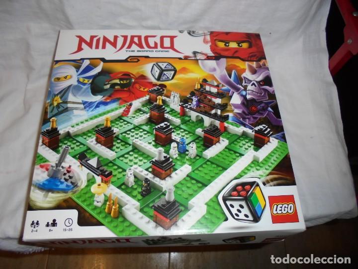LEGO 3856 NINJAGO THE BOARD GAME.SOLO LE FALTA LA HERRAMIENTA ROJA QUE SIRVE PARA SACAR LAS CARAS DE (Juguetes - Construcción - Lego)