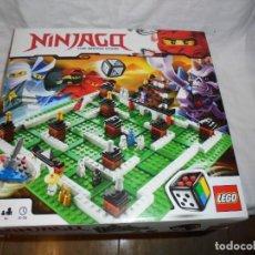 Juegos construcción - Lego: LEGO 3856 NINJAGO THE BOARD GAME.SOLO LE FALTA LA HERRAMIENTA ROJA QUE SIRVE PARA SACAR LAS CARAS DE. Lote 191652800