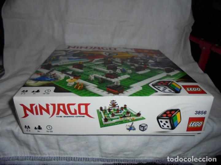 Juegos construcción - Lego: LEGO 3856 NINJAGO THE BOARD GAME.SOLO LE FALTA LA HERRAMIENTA ROJA QUE SIRVE PARA SACAR LAS CARAS DE - Foto 2 - 191652800