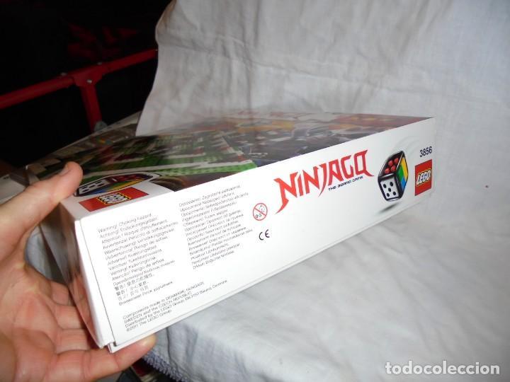 Juegos construcción - Lego: LEGO 3856 NINJAGO THE BOARD GAME.SOLO LE FALTA LA HERRAMIENTA ROJA QUE SIRVE PARA SACAR LAS CARAS DE - Foto 3 - 191652800