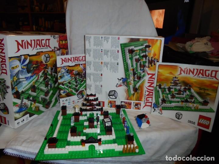 Juegos construcción - Lego: LEGO 3856 NINJAGO THE BOARD GAME.SOLO LE FALTA LA HERRAMIENTA ROJA QUE SIRVE PARA SACAR LAS CARAS DE - Foto 6 - 191652800