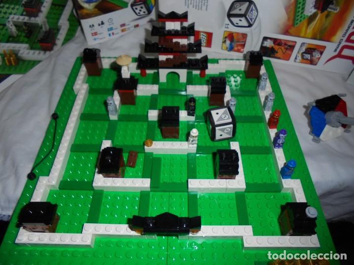 Juegos construcción - Lego: LEGO 3856 NINJAGO THE BOARD GAME.SOLO LE FALTA LA HERRAMIENTA ROJA QUE SIRVE PARA SACAR LAS CARAS DE - Foto 7 - 191652800