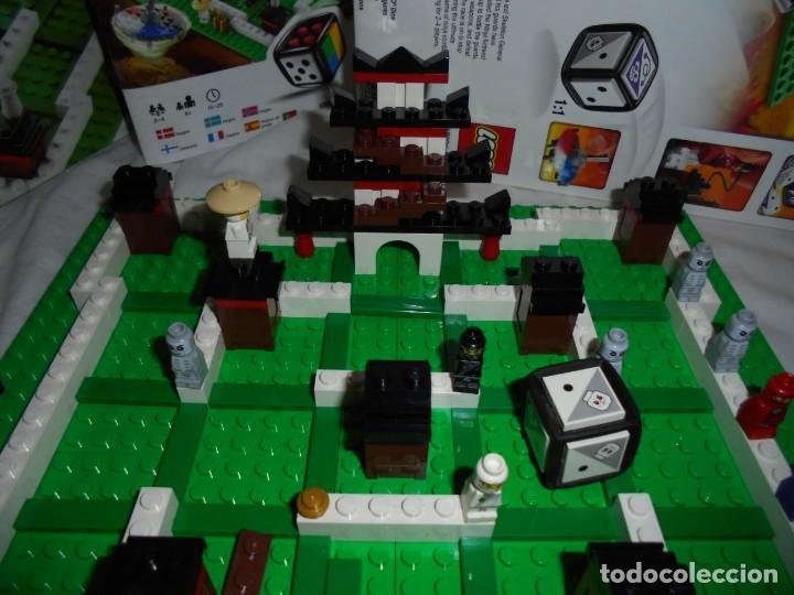 Juegos construcción - Lego: LEGO 3856 NINJAGO THE BOARD GAME.SOLO LE FALTA LA HERRAMIENTA ROJA QUE SIRVE PARA SACAR LAS CARAS DE - Foto 8 - 191652800