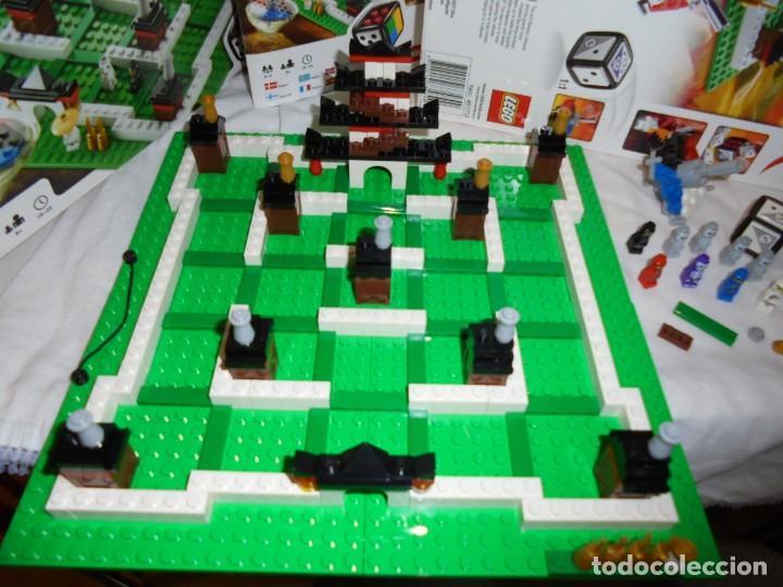 Juegos construcción - Lego: LEGO 3856 NINJAGO THE BOARD GAME.SOLO LE FALTA LA HERRAMIENTA ROJA QUE SIRVE PARA SACAR LAS CARAS DE - Foto 9 - 191652800