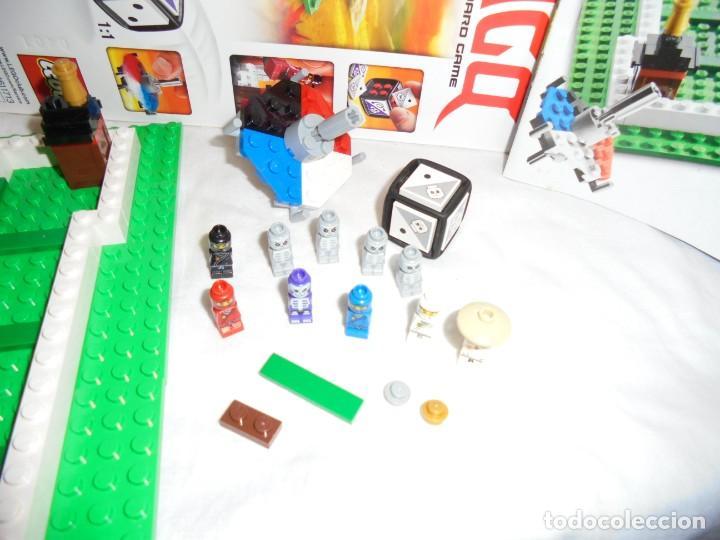 Juegos construcción - Lego: LEGO 3856 NINJAGO THE BOARD GAME.SOLO LE FALTA LA HERRAMIENTA ROJA QUE SIRVE PARA SACAR LAS CARAS DE - Foto 10 - 191652800