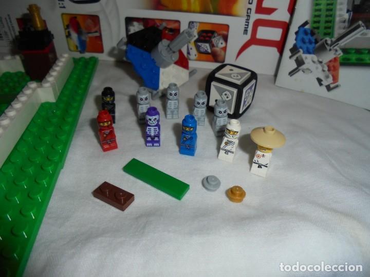 Juegos construcción - Lego: LEGO 3856 NINJAGO THE BOARD GAME.SOLO LE FALTA LA HERRAMIENTA ROJA QUE SIRVE PARA SACAR LAS CARAS DE - Foto 11 - 191652800