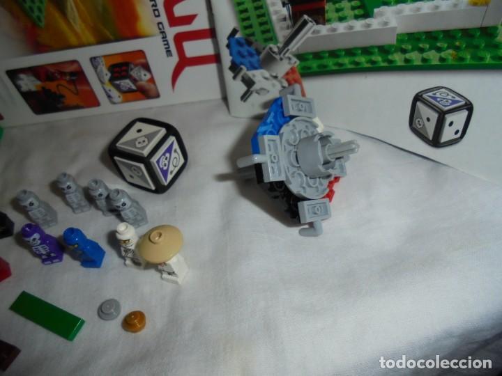 Juegos construcción - Lego: LEGO 3856 NINJAGO THE BOARD GAME.SOLO LE FALTA LA HERRAMIENTA ROJA QUE SIRVE PARA SACAR LAS CARAS DE - Foto 12 - 191652800