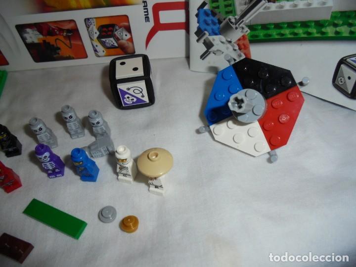 Juegos construcción - Lego: LEGO 3856 NINJAGO THE BOARD GAME.SOLO LE FALTA LA HERRAMIENTA ROJA QUE SIRVE PARA SACAR LAS CARAS DE - Foto 13 - 191652800