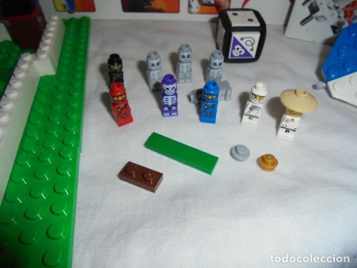 Juegos construcción - Lego: LEGO 3856 NINJAGO THE BOARD GAME.SOLO LE FALTA LA HERRAMIENTA ROJA QUE SIRVE PARA SACAR LAS CARAS DE - Foto 14 - 191652800