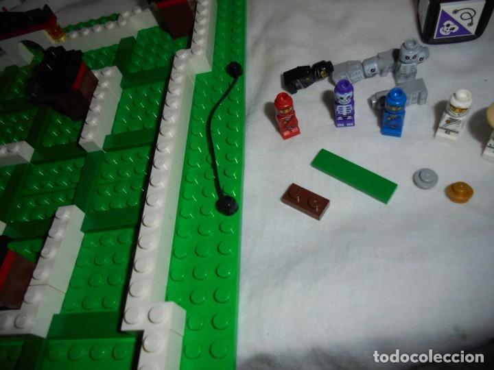 Juegos construcción - Lego: LEGO 3856 NINJAGO THE BOARD GAME.SOLO LE FALTA LA HERRAMIENTA ROJA QUE SIRVE PARA SACAR LAS CARAS DE - Foto 16 - 191652800