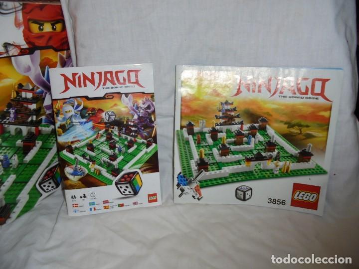 Juegos construcción - Lego: LEGO 3856 NINJAGO THE BOARD GAME.SOLO LE FALTA LA HERRAMIENTA ROJA QUE SIRVE PARA SACAR LAS CARAS DE - Foto 17 - 191652800