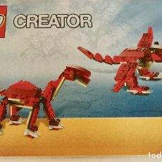 Juegos construcción - Lego: MANUAL DE CONSTRUCCION PARA LEGO CREATOR 6914. Lote 192899906