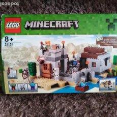 Juegos construcción - Lego: JUEGO LEGO MINE RAFT. REF 21121. Lote 193315681