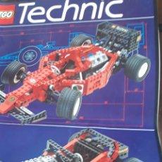 Juegos construcción - Lego: CATÁLOGO O MANUAL DE INSTRUCCIONES LEGO TECHNIC 8440. COCHE CARRERAS.AÑOS 90. Lote 193797158