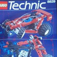 Juegos construcción - Lego: CATÁLOGO O MANUAL DE INSTRUCCIONES LEGO TECHNIC 8829. AÑOS 90. Lote 193797625