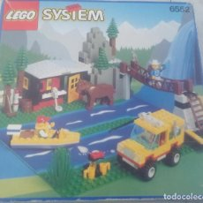 Juegos construcción - Lego: SET O CAJA - LEGO 6552 - RETIRO DEL RÍO ROCOSO - ROCKY RIVER RETREAT. Lote 193938885
