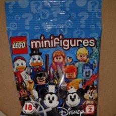 Juegos construcción - Lego: MINIFIGURA DISNEY SERIE 2 SOBRE SORPRESA LEGO ORIGINAL JASMINE DE ALADDIN NUEVA CON SOBRE Y FOLLETO. Lote 194356627