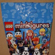 Juegos construcción - Lego: MINIFIGURA DISNEY SERIE 2 SOBRE SORPRESA LEGO ORIGINAL ARDILLA CHIP Y CHOP NUEVA CON SOBRE Y FOLLETO. Lote 194356708