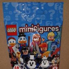 Juegos construcción - Lego: MINIFIGURA DISNEY SERIE 2 SOBRE SORPRESA LEGO ORIGINAL ARDILLA CHIP Y CHOP NUEVA CON SOBRE Y FOLLETO. Lote 194356731