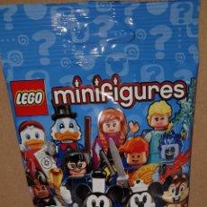 Juegos construcción - Lego: MINIFIGURA DISNEY SOBRE SORPRESA SERIE 2 LEGO ORIGINAL EDNA INCREÍBLES NUEVA CON SOBRE Y FOLLETO. Lote 194356763