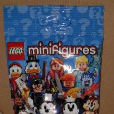 Juegos construcción - Lego: MINIFIGURA DISNEY SOBRE SORPRESA LEGO SERIE 2 ORIGINAL ELSA FROZEN NUEVA CON SOBRE Y FOLLETO. Lote 194356781