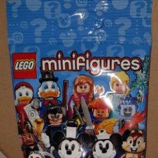 Juegos construcción - Lego: MINIFIGURA DISNEY SOBRE SORPRESA LEGO SERIE 2 ORIGINAL ANNA FROZEN NUEVA CON SOBRE Y FOLLETO. Lote 194356806