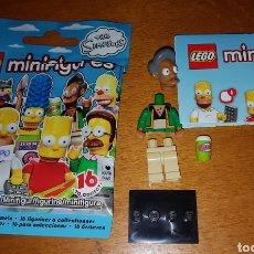 Juegos construcción - Lego: MINIFIGURA LEGO THE SIMPSONS SIMPSON APU NUEVO MUÑECO COLECCIÓN SERIE 1. Lote 194359807