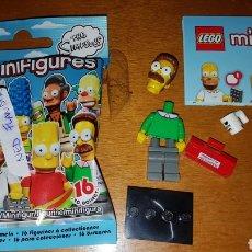 Juegos construcción - Lego: MINIFIGURA LEGO THE SIMPSONS SIMPSON NED FLANDERS MUÑECO COLECCIÓN. Lote 194359815