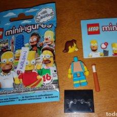 Juegos construcción - Lego: MINIFIGURA LEGO THE SIMPSONS SIMPSON NELSON MUÑECO COLECCIÓN DIBUJOS ANIMADOS. Lote 194359827
