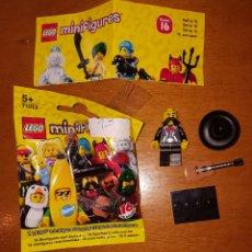 Juegos construcción - Lego: MINIFIGURA LEGO SERIE 16 MEXICANO MARIACHI NUEVO CON SOBRE Y CATÁLOGO MUÑECO COLECCIÓN. Lote 194359853