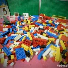 Juegos construcción - Lego: PIEZAS DE LEGO BASIC ANTIGUO AÑOS 70 GRAN LOTE DE PIEZA BASIC. Lote 194508052