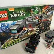 Juegos construcción - Lego: LEGO TORTUGAS NINJA TURTLES PELÍCULA MOVIE 79116. Lote 194535075