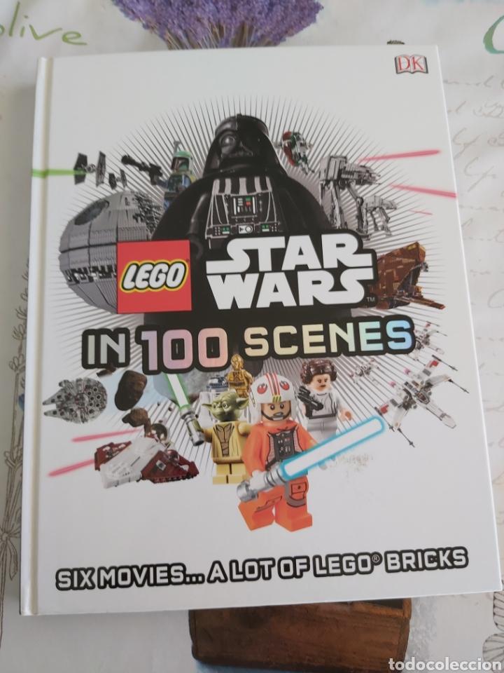 LEGO STAR WARS EN 100 ESCENAS LIBRO EN INGLES (Juguetes - Construcción - Lego)