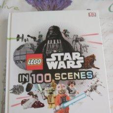 Juegos construcción - Lego: LEGO STAR WARS EN 100 ESCENAS LIBRO EN INGLES. Lote 194574636