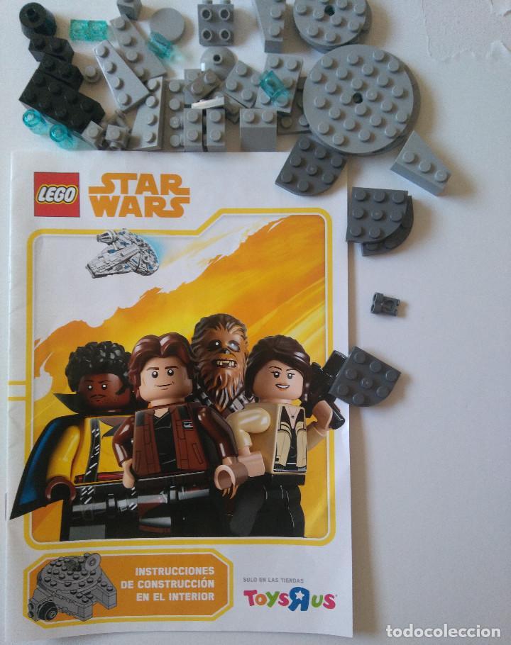 STAR WARS LEGO HALCON MILENARIO TOYS R US EXCLUSIVO LIMITADO MILLENIUM FALCON 44 PIEZAS PROMOCIONAL (Juguetes - Construcción - Lego)